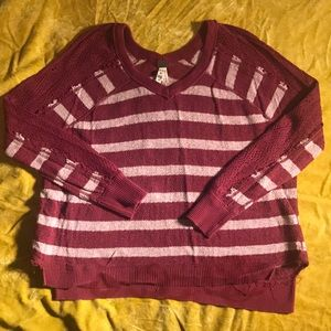 Free people xs casual long sleeve shirt